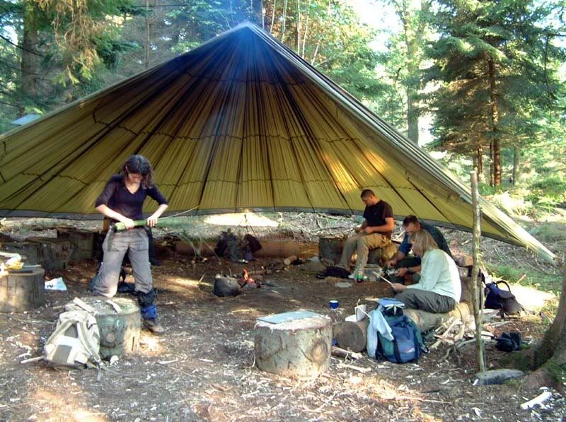 parachute shelter I kind of like this. & parachute shelter I kind of like this. | Camping | Pinterest ...