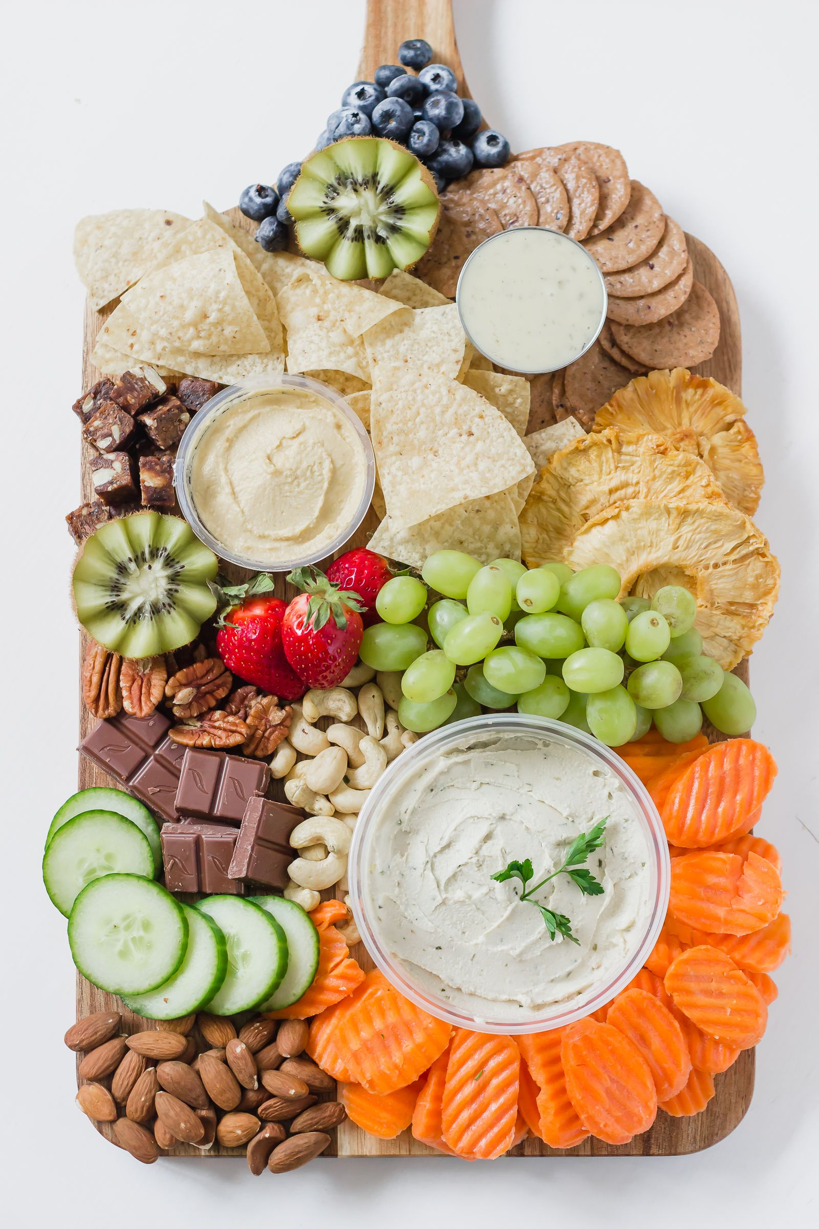 Healthy Party Platter Refreshing Rose