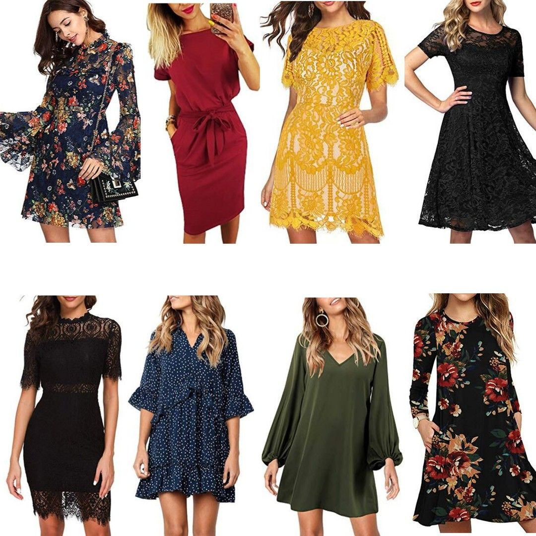 Amazon Fall Wedding Guest Dresses Under 40 For The Love Of Glitter Fall Wedding Guest Dress Amazon Dresses Wedding Guest Outfit Fall [ 1080 x 1080 Pixel ]