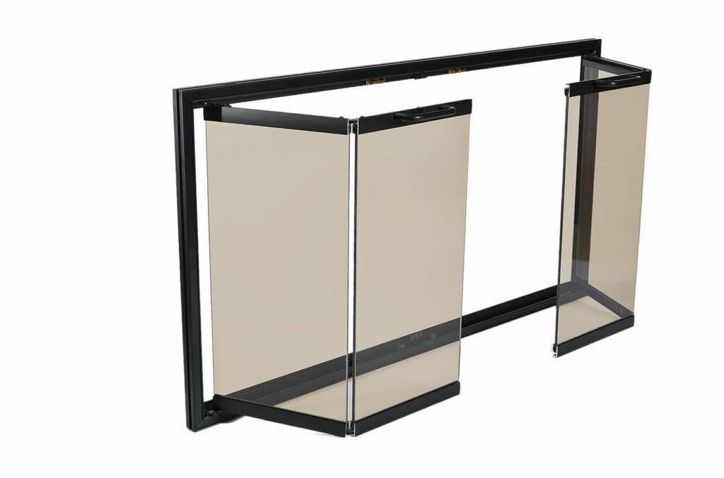 Trackless Bifold Glass Doors Fireplace Screens Pinterest Glass