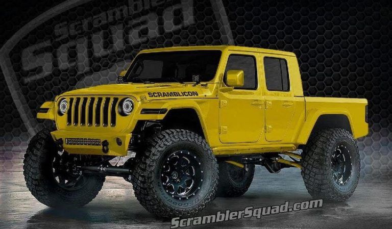 What If Your 2020 Jeep Gladiator Scrambler Truck Was Rolling On