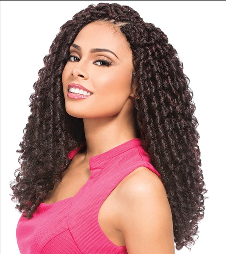 Crochet Braid Hair Extensions 12inch 30strands 70g Synthetic Soft