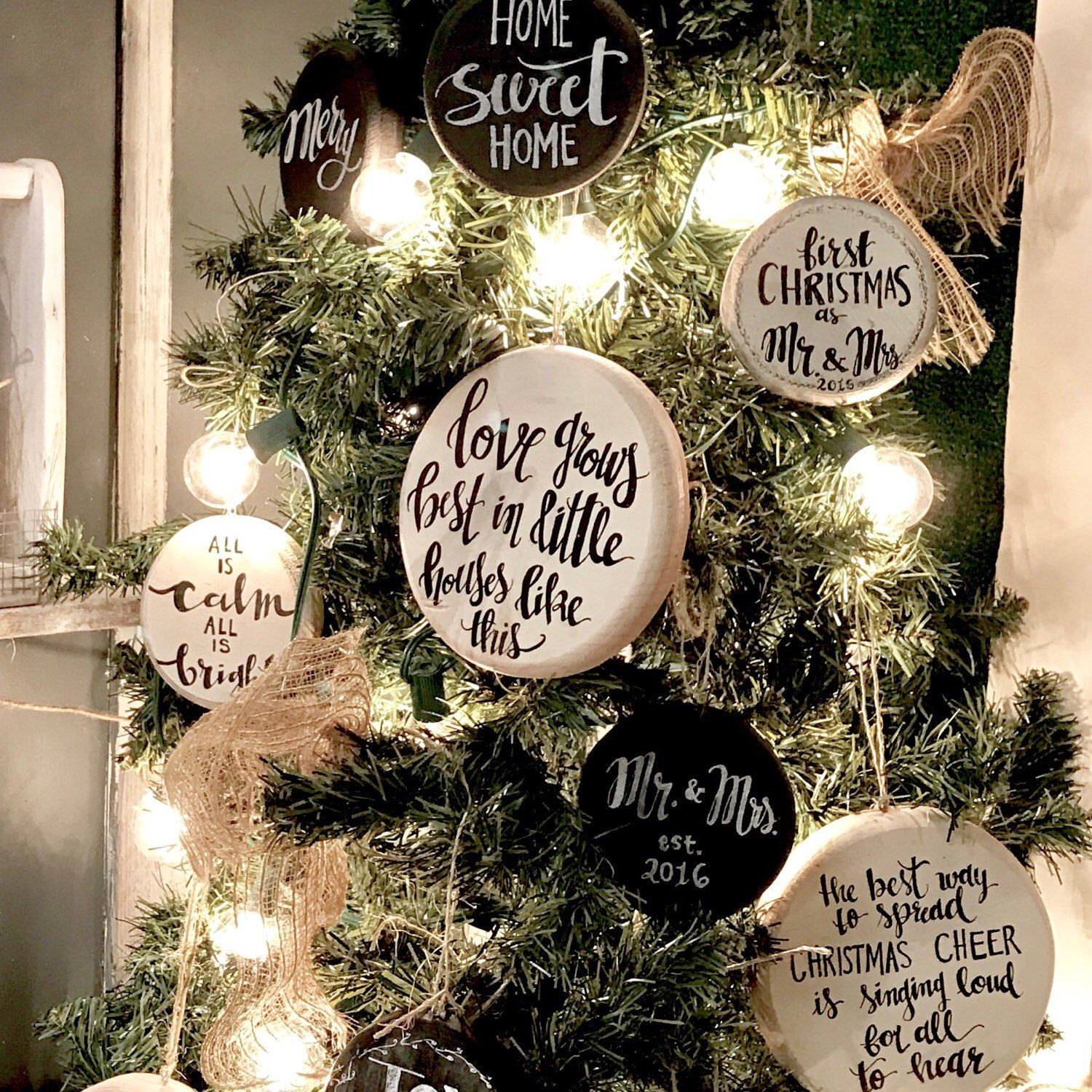 looking to add some rustic ornaments to your farmhouse style christmas tree farmhousechristmas