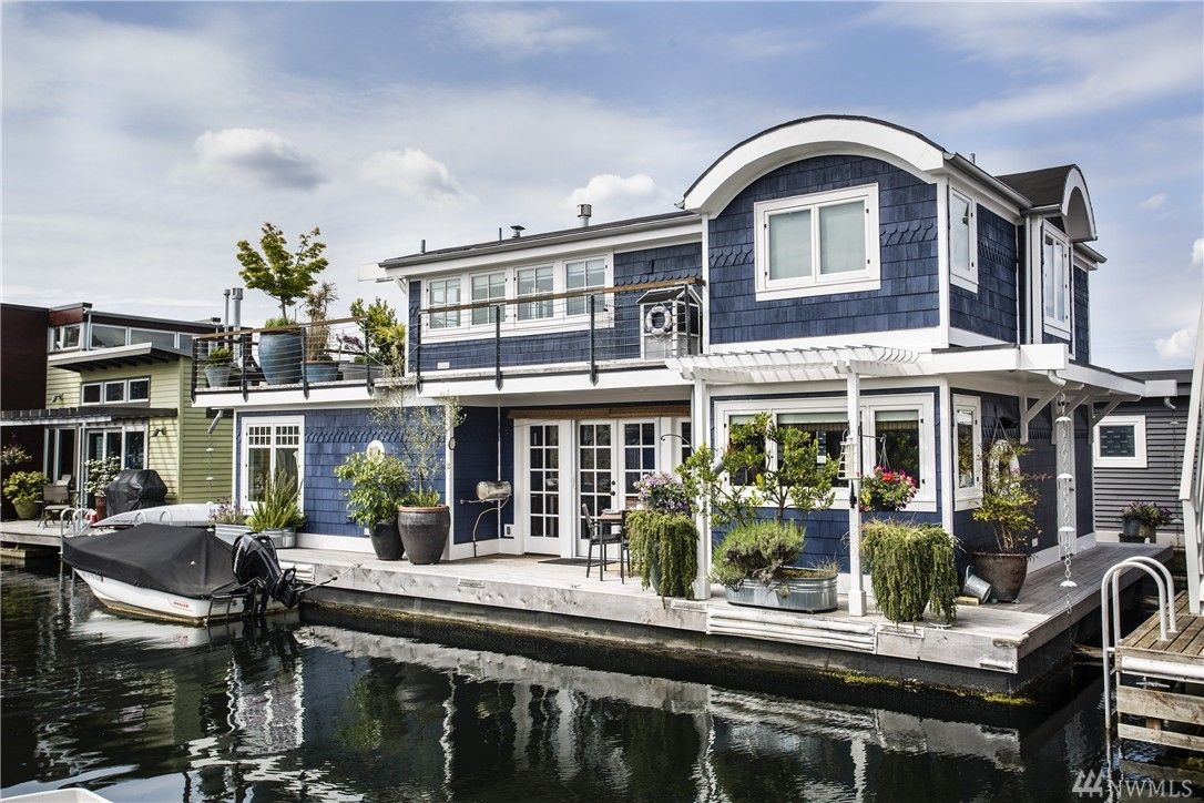 Portland Floating Homes Google Search Floating House