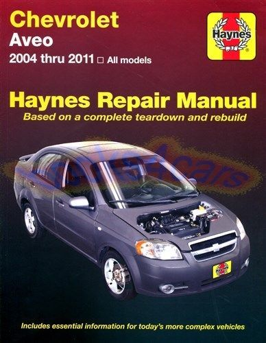 Manualspro On Twitter Chevrolet Aveo Repair Manuals Chevrolet