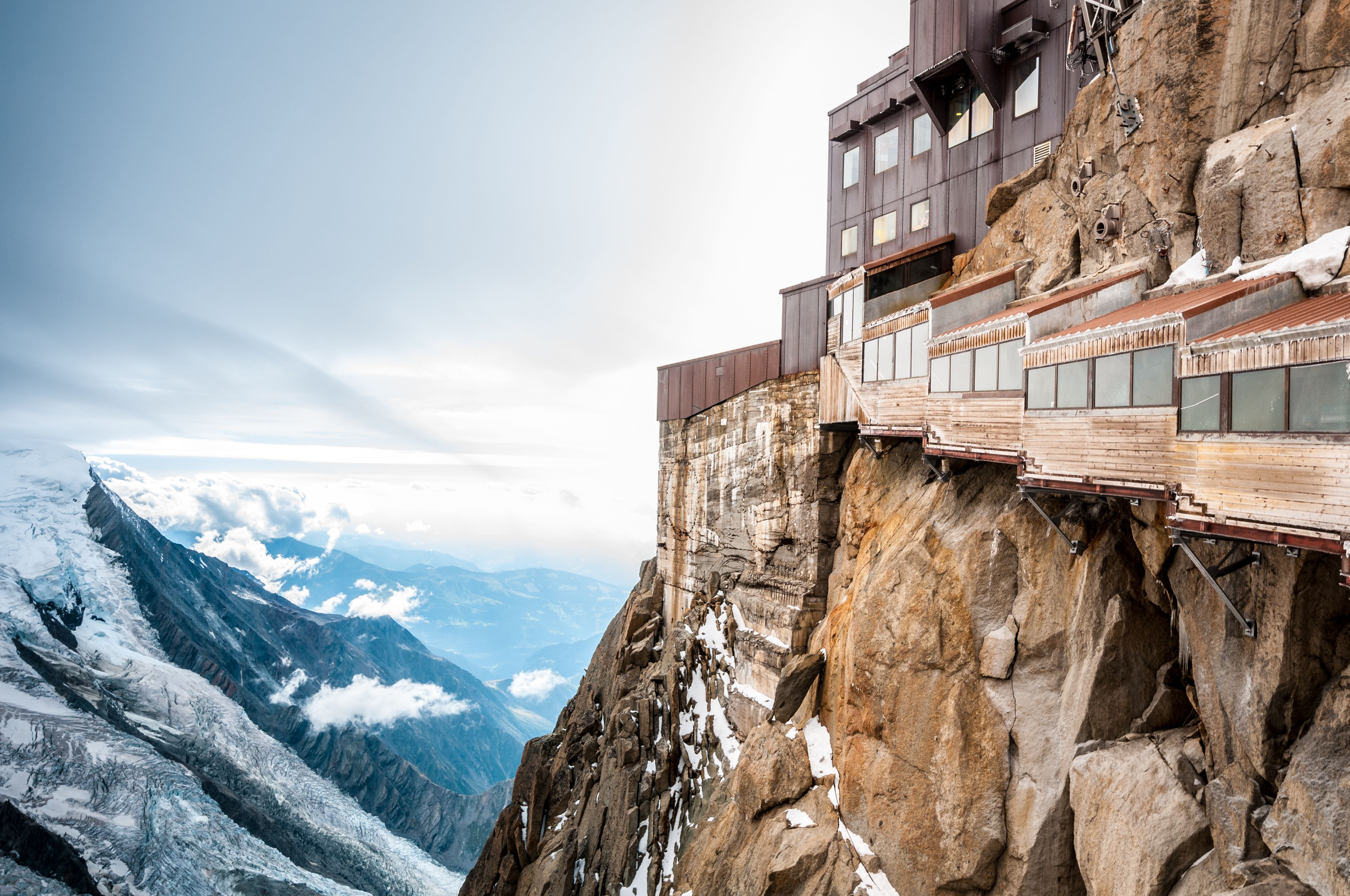 Restaurant Le 3842 Highest Maitre Restaurateur In Europe Fresh And Local Food At The Summit Of The Aiguille Du Midi Ch French Alps Vacation France Travel