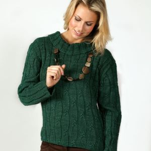 Sue Jumper Free Knitting Pattern when you Buy as a Kit