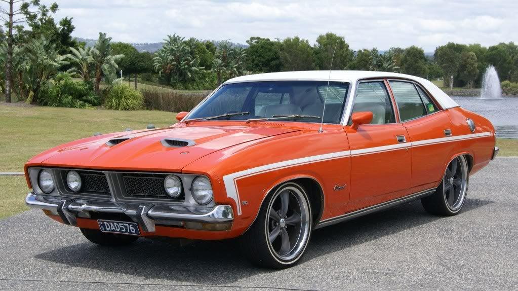 Xr Lanes 1975 Xb Falcon 500 Australian Muscle Cars Aussie