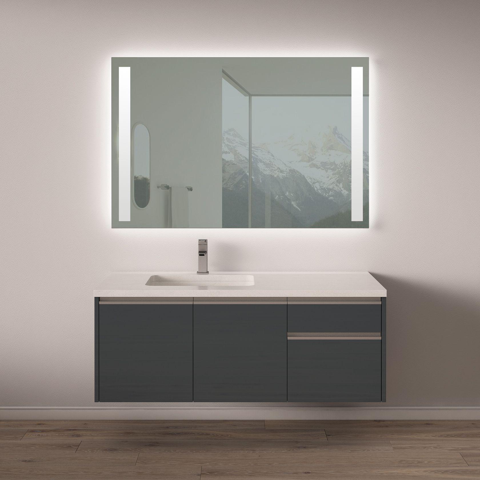 Modern Floating Bathroom Vanity From Hans Krug