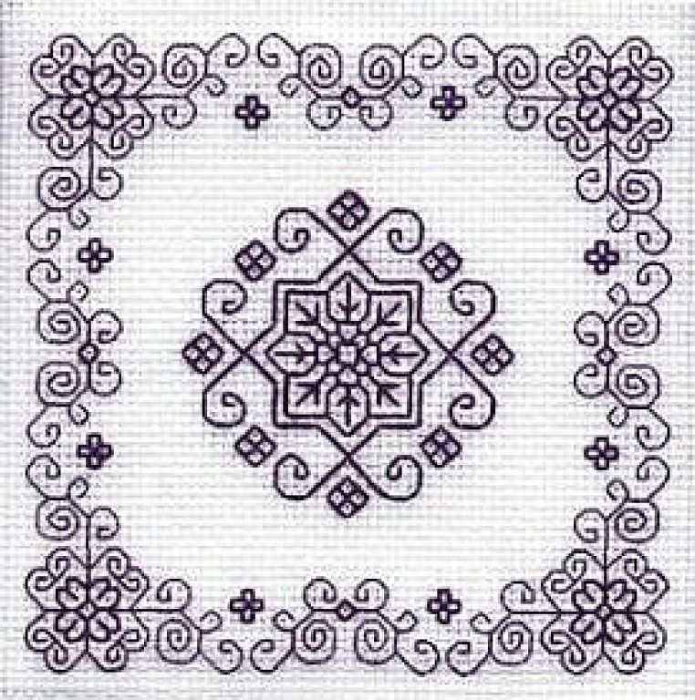 BLACKWORK-esquemas | Bordados de pespunte | Pinterest | Stickerei