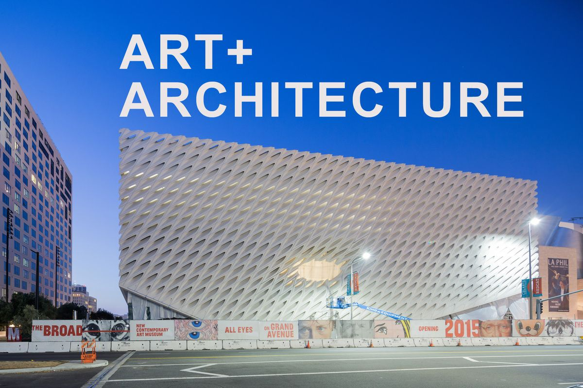 What makes an artless museum? | The Broad exterior, photo by Iwan Baan | Archinect