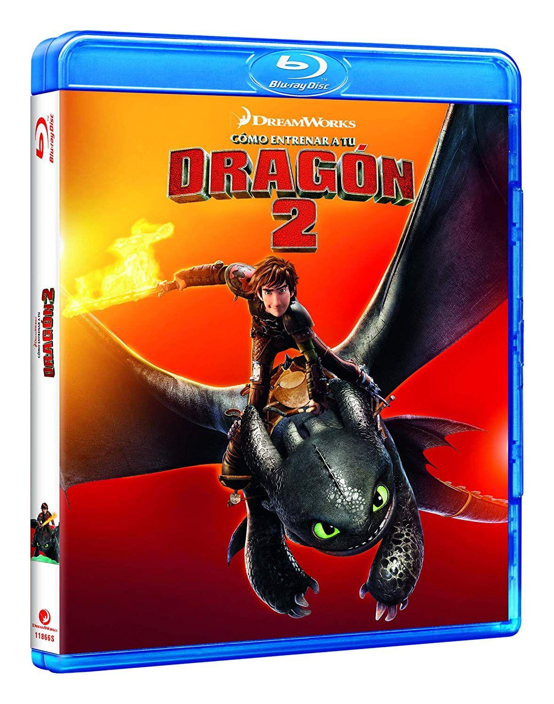 Como Entrenar A Tu Dragon 2 Bd Blu Ray Tu Entrenar Como
