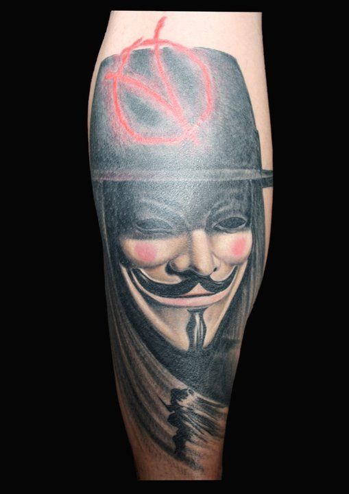 Pin By Leanna Butler On Tattoos V For Vendetta Tattoo Vendetta Tattoo Body Art Tattoos