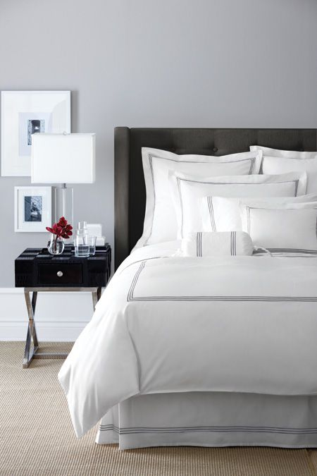 grey (or gray) bedroom inspiration | gray bedroom and bedrooms