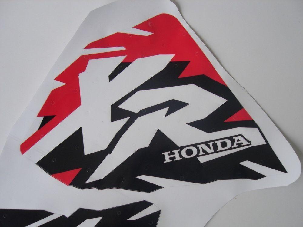 Honda Xr 400 Xr400r Tank Decals Stickers Free Shipping Honda Decals Stickers Stickers