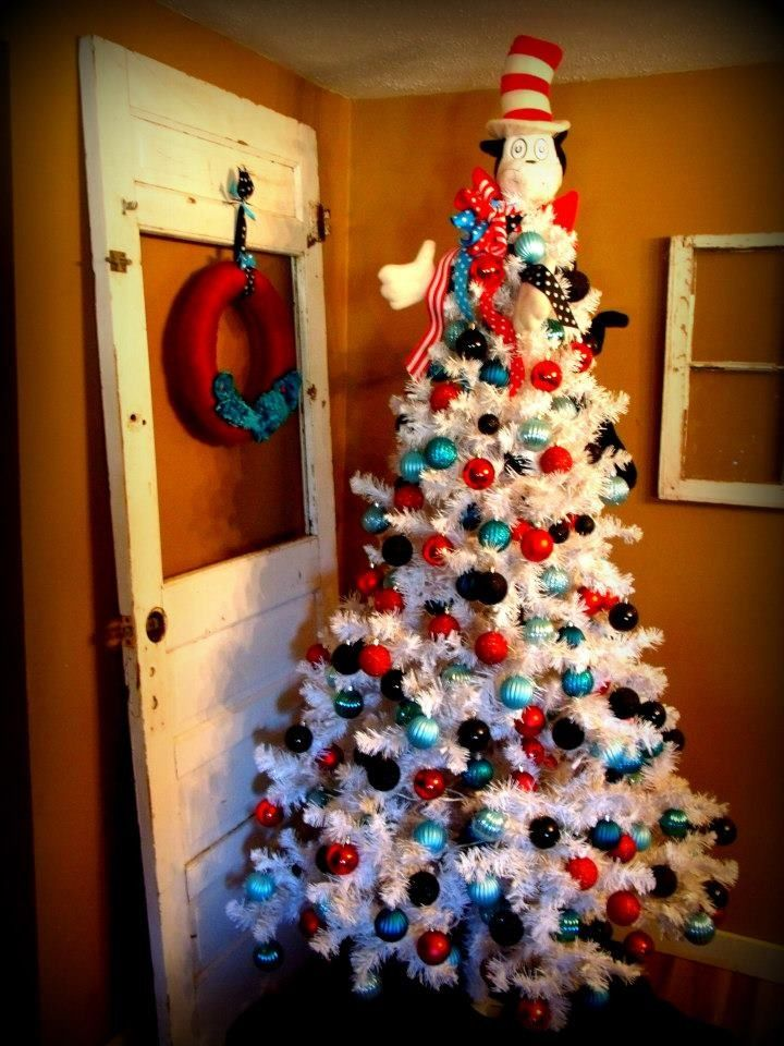 Cat in the Hat Christmas Tree my sister is so talented