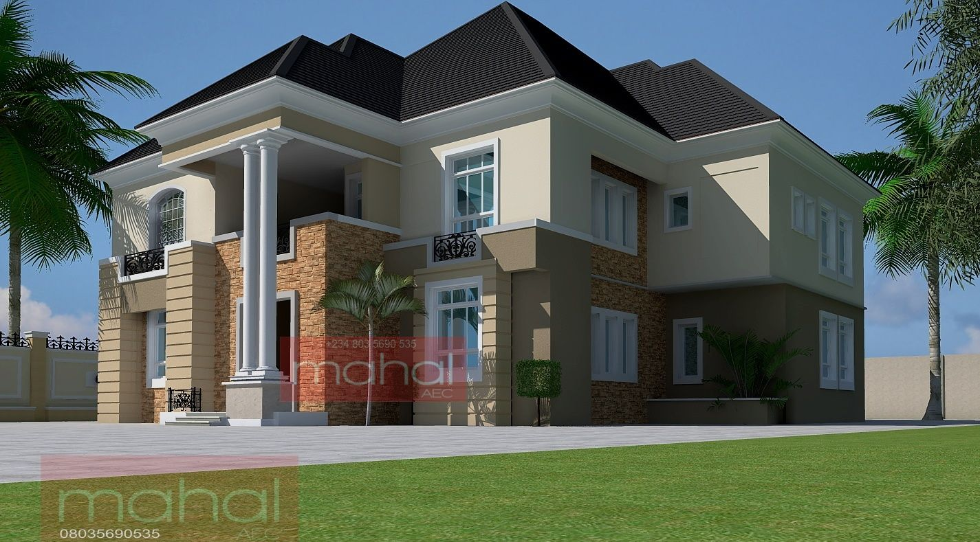 Contemporary nigerian residential architecture september for Nigerian architectural home designs
