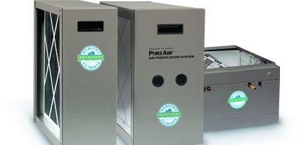 Pure air filtration system Indoor air quality, Iaq
