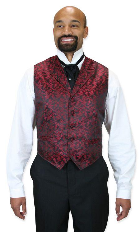 Warwick Vest - Red | Dress vest