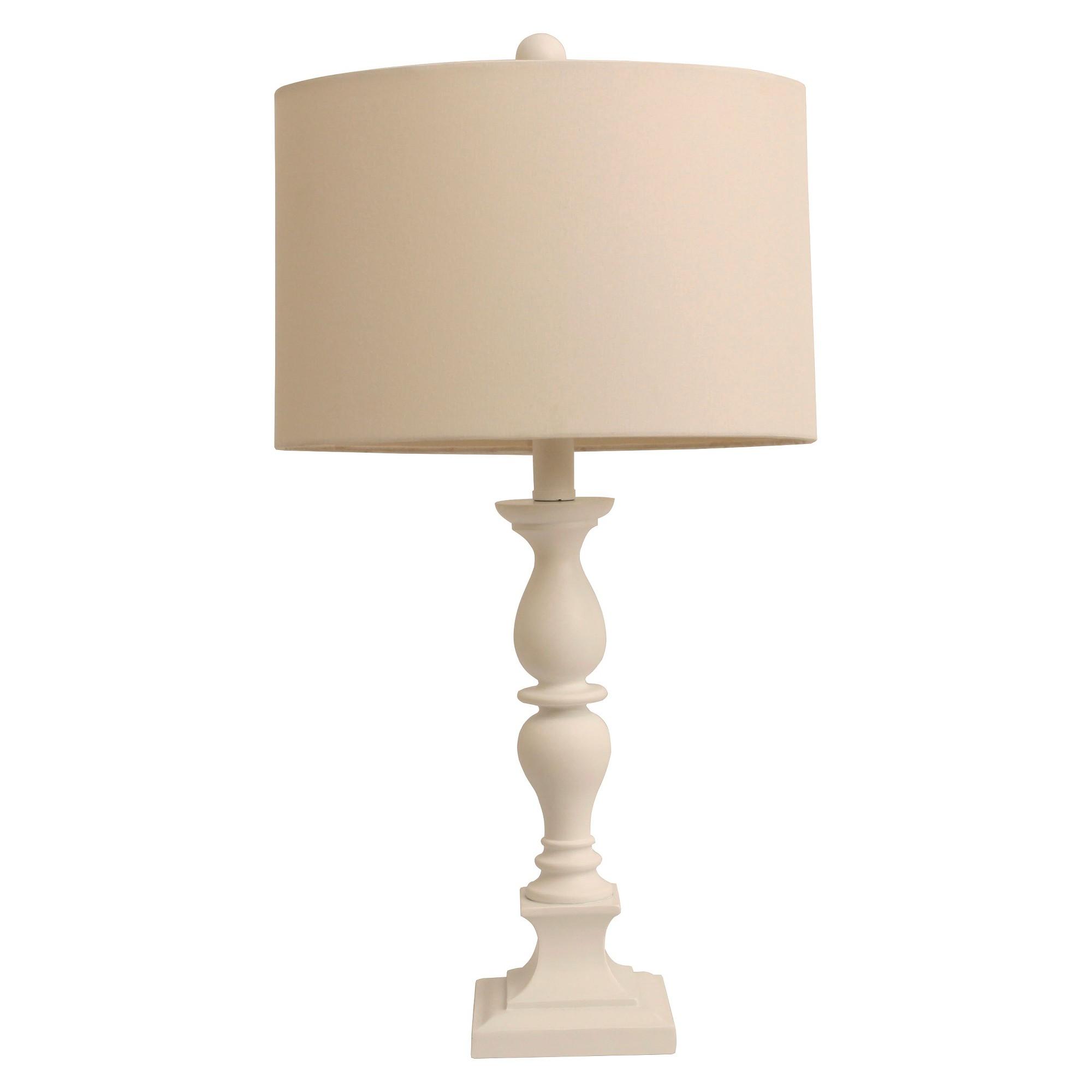 J hunt classic table lamp white off white