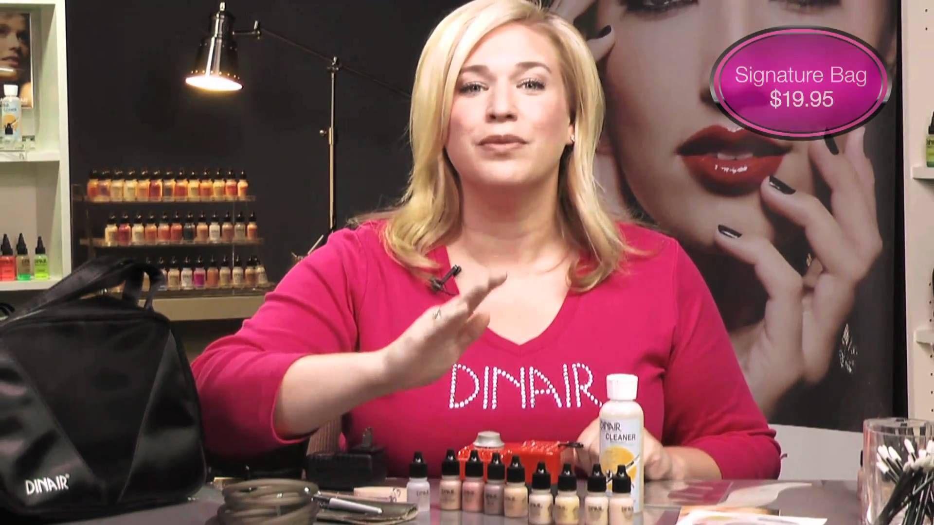 Dinair Paramedical Airbrush Makeup Kit Airbrush makeup