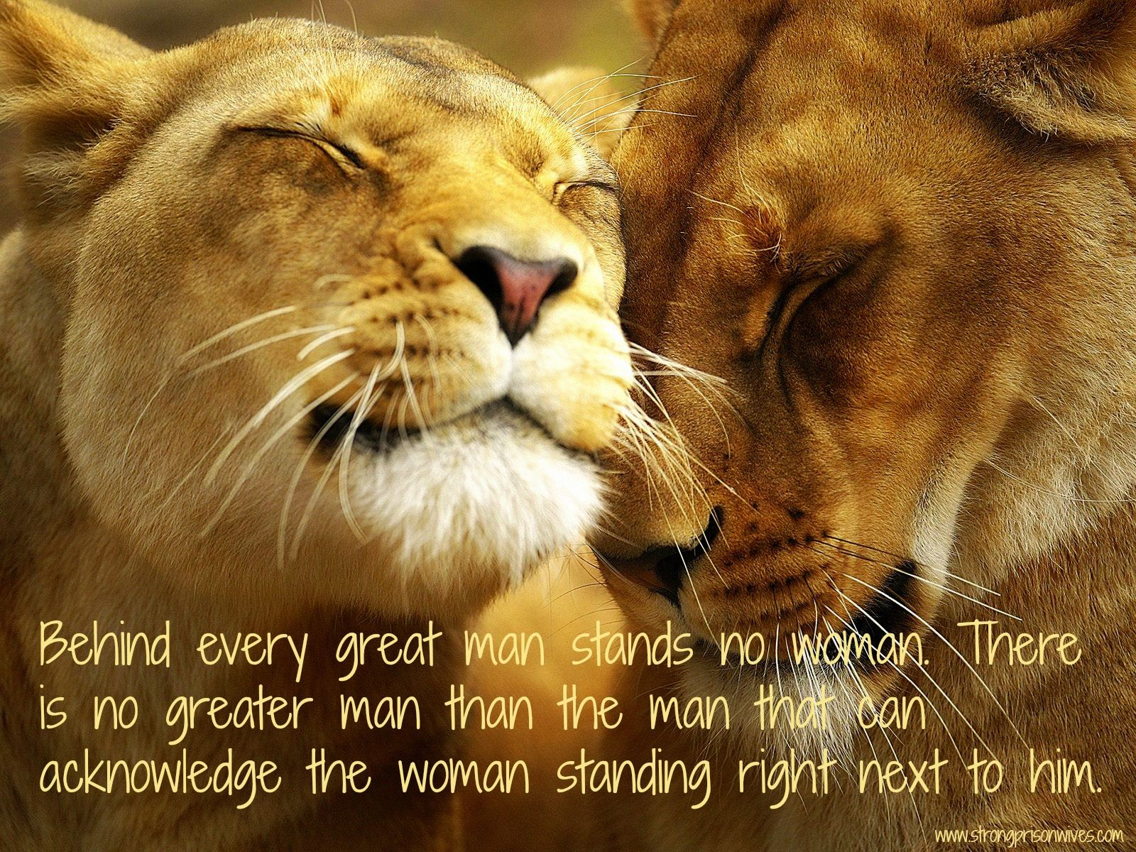 A Great Man Stands Beside His Woman #spwf