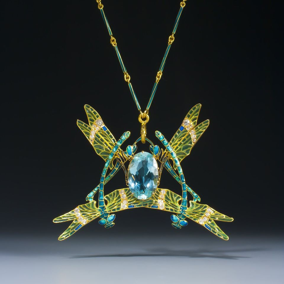 lalique dragonfly - Google Search