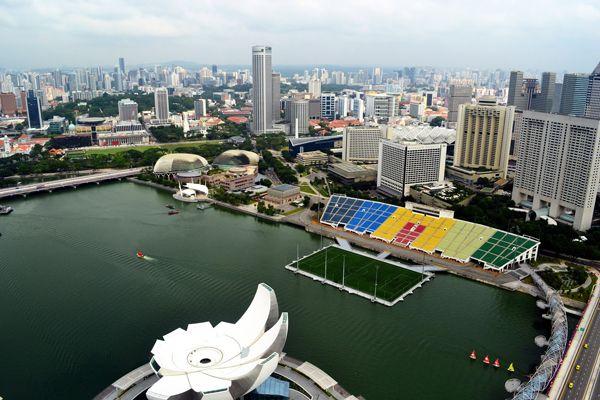 Marina Bay Floating Stadium Singapore National Stadium Stadium Travel Destinations