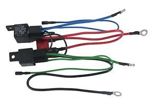 New Wiring Harness Convert 3 Wire Tilt Trim Motor To 2 Wire 30 Amp Fuse 2 Relays Mercury Marine Automotive Replacement Parts Alternator