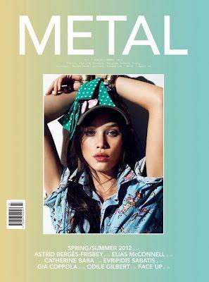 Metal #27 S/S 2012: Astrid Bergès-Frisbey by Nico.