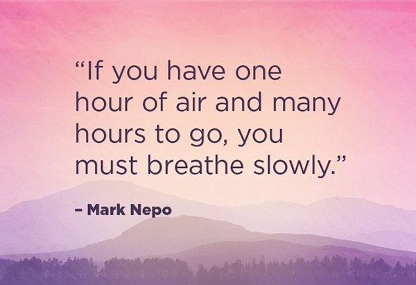 Soul Quotes To Live By: Mark Nepo On Being Present And Recognizing Life's Gifts