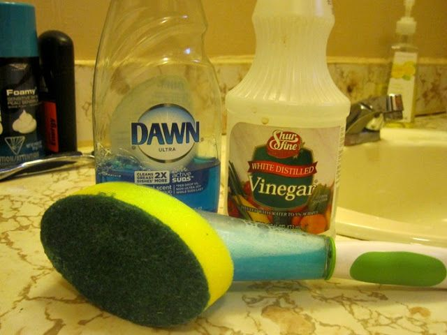 Bathroom Cleaning With Vinegar And Dawn Seriously