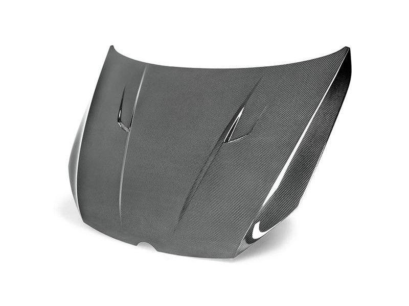 Seibon Carbon Fiber Hood For Vw Golf Golf R Gti Mk7 Tm Style Carbon Fiber Vw Golf Volkswagen Golf
