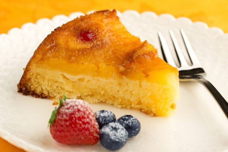 Air Fryer Pineapple Cake  - Air Fryer -