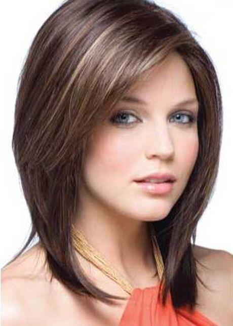 Corte de cabello concavo para cara redonda
