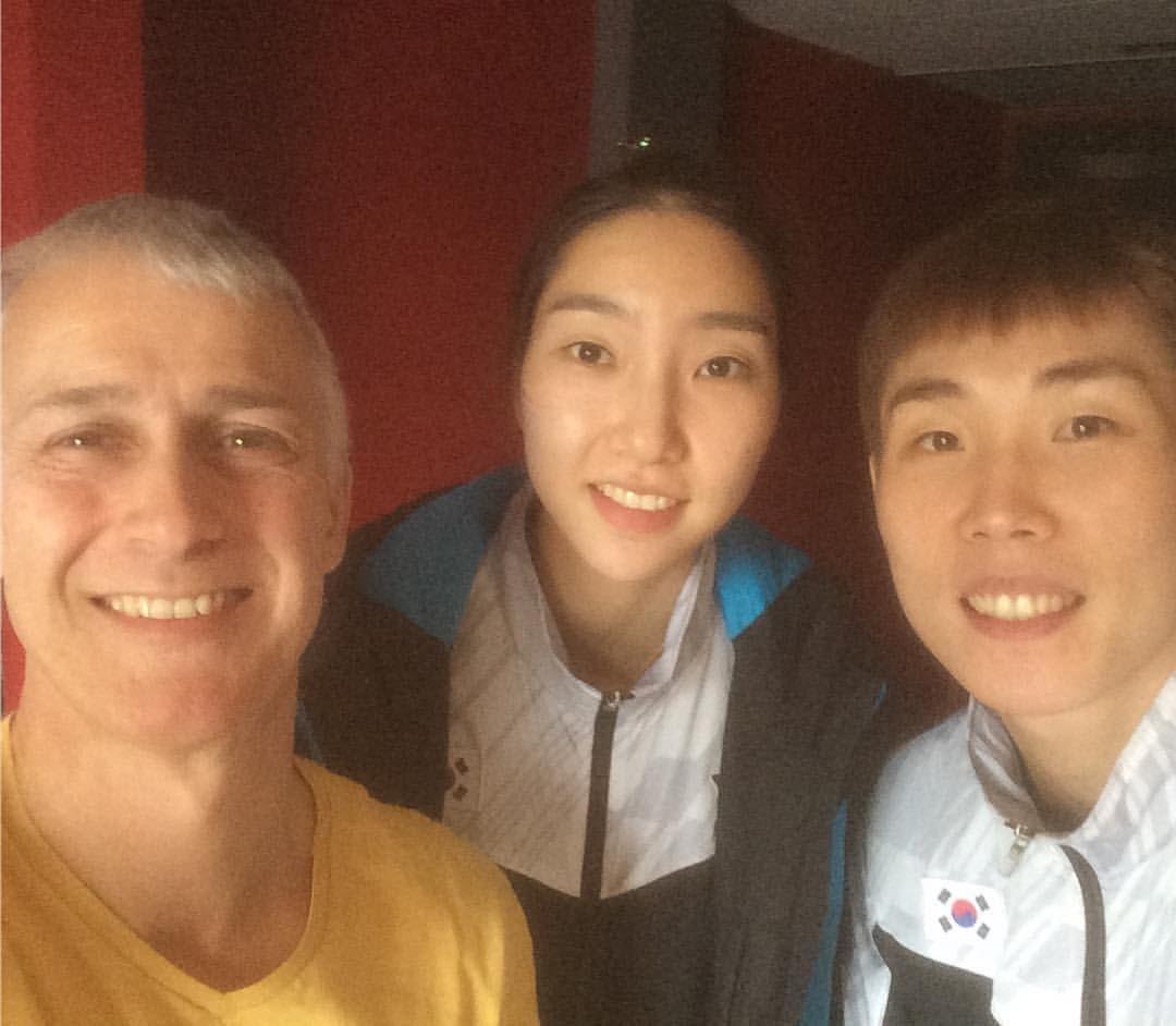 With Son Wan Ho and Sung Ji Hyun