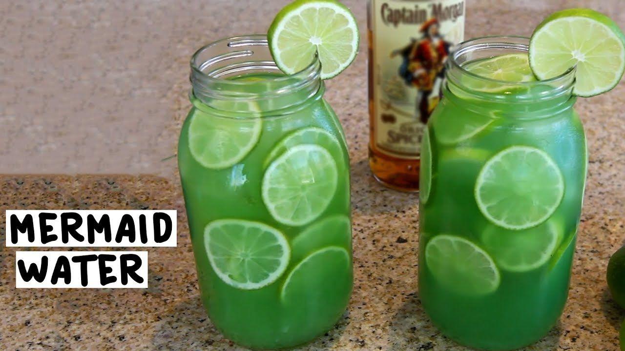 Mermaid Water Tipsy Bartender Recipe Rum Drinks Recipes Rum Drinks Moonshine Recipes