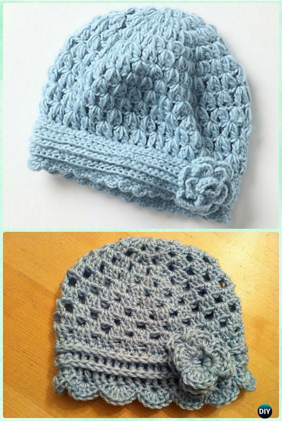 Crochet Anthro Inspired Flower Hat Free Pattern Instruction ...