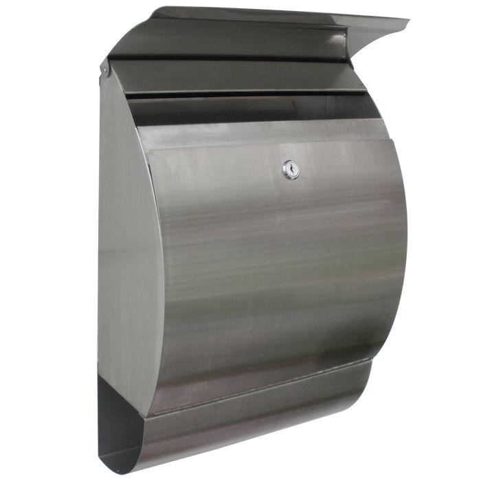 European Home Stainless Steel Modern Contemporary Jensen Mailbox Residential Mailbox Yashik Pochtovyj Yashik Kartinki