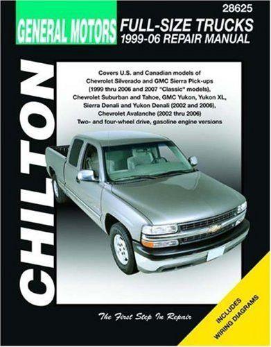 gm full size trucks 1999 06 repair manual chilton s total car care rh pinterest com Eve Chilton Haynes Auto Repair Manuals