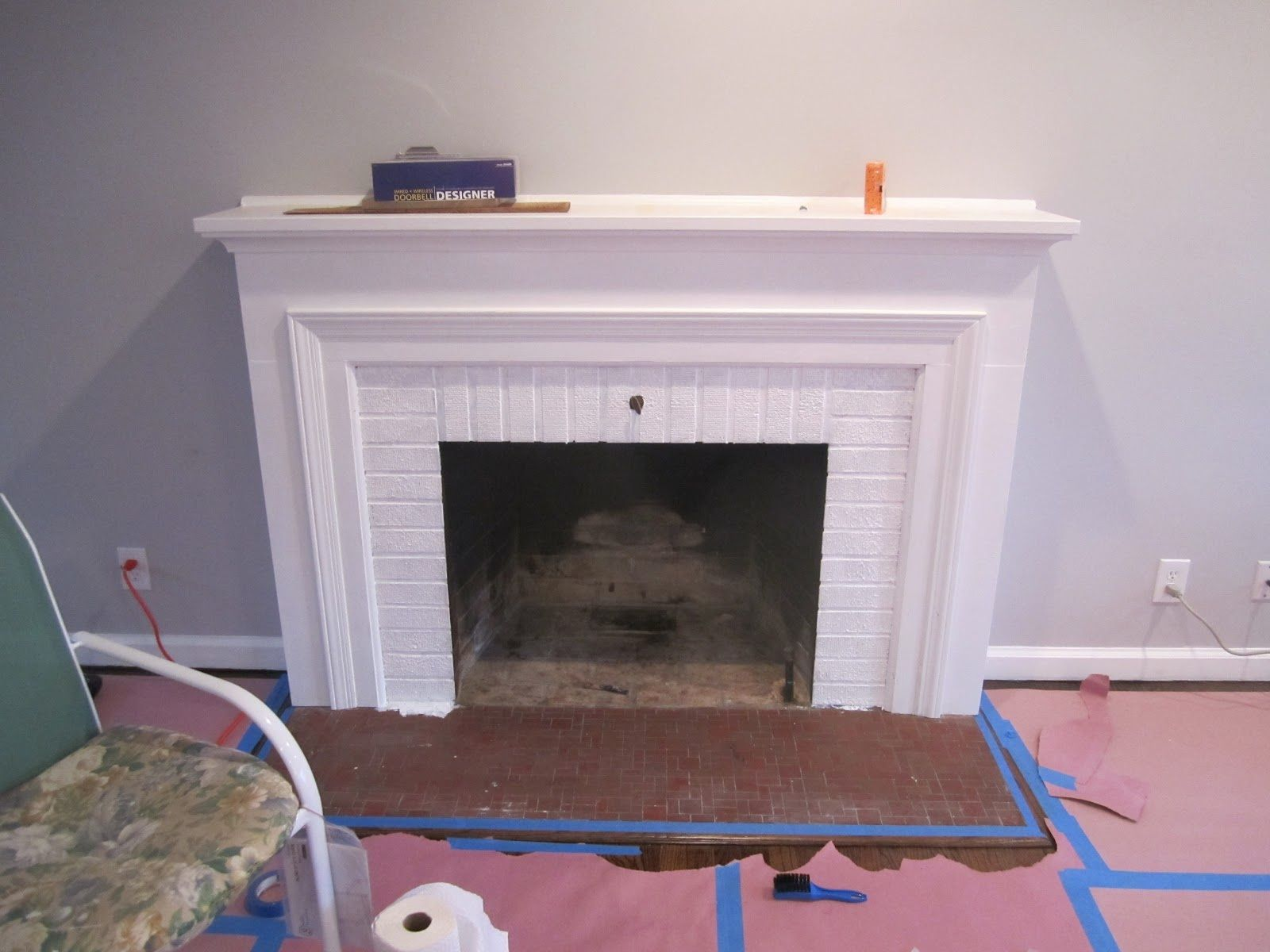 Operation Hearth Re Tile The Tile Shop Inspiration Fireplace