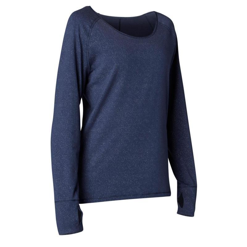 T-shirt manches longues yoga doux coton issu de l agriculture ... b22b95bbf7f5