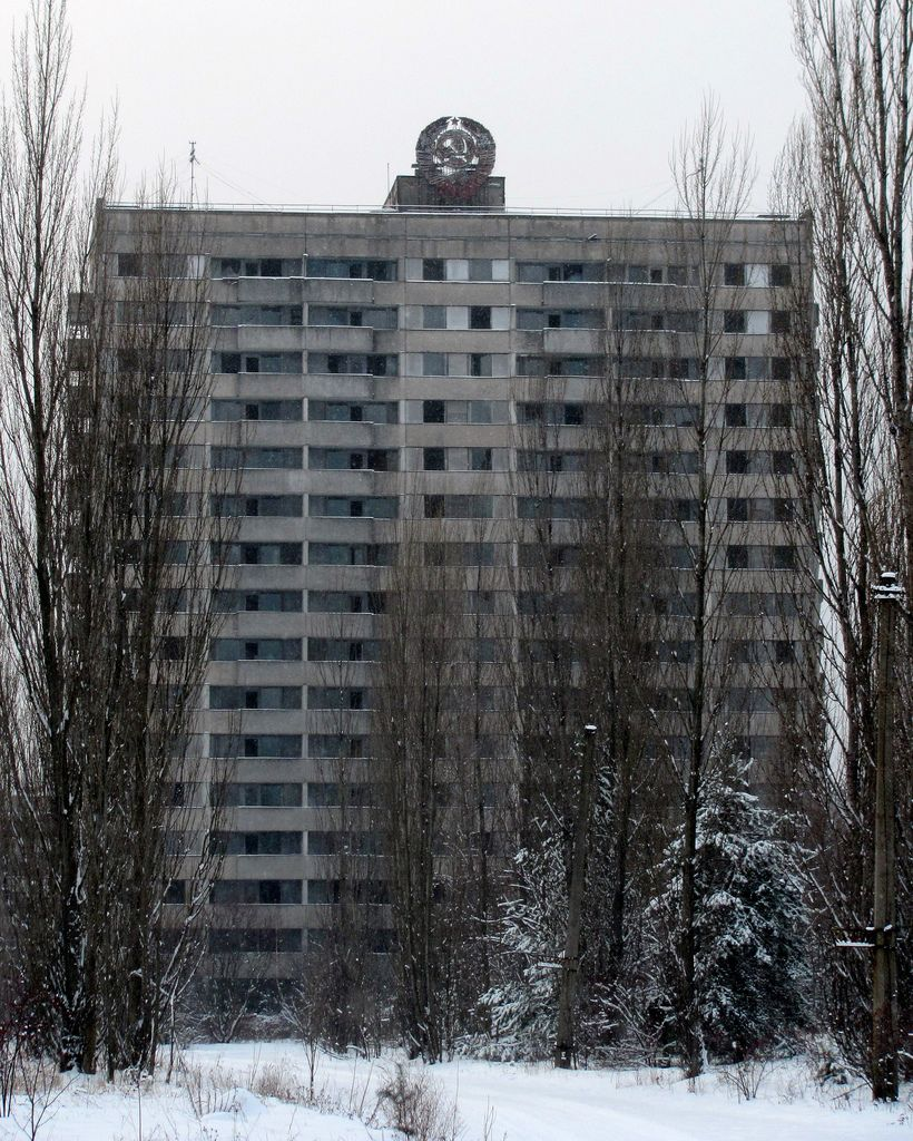 Abandoned Soviet Apartment Building