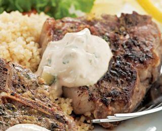 Lemon & Oregano Lamb Chops