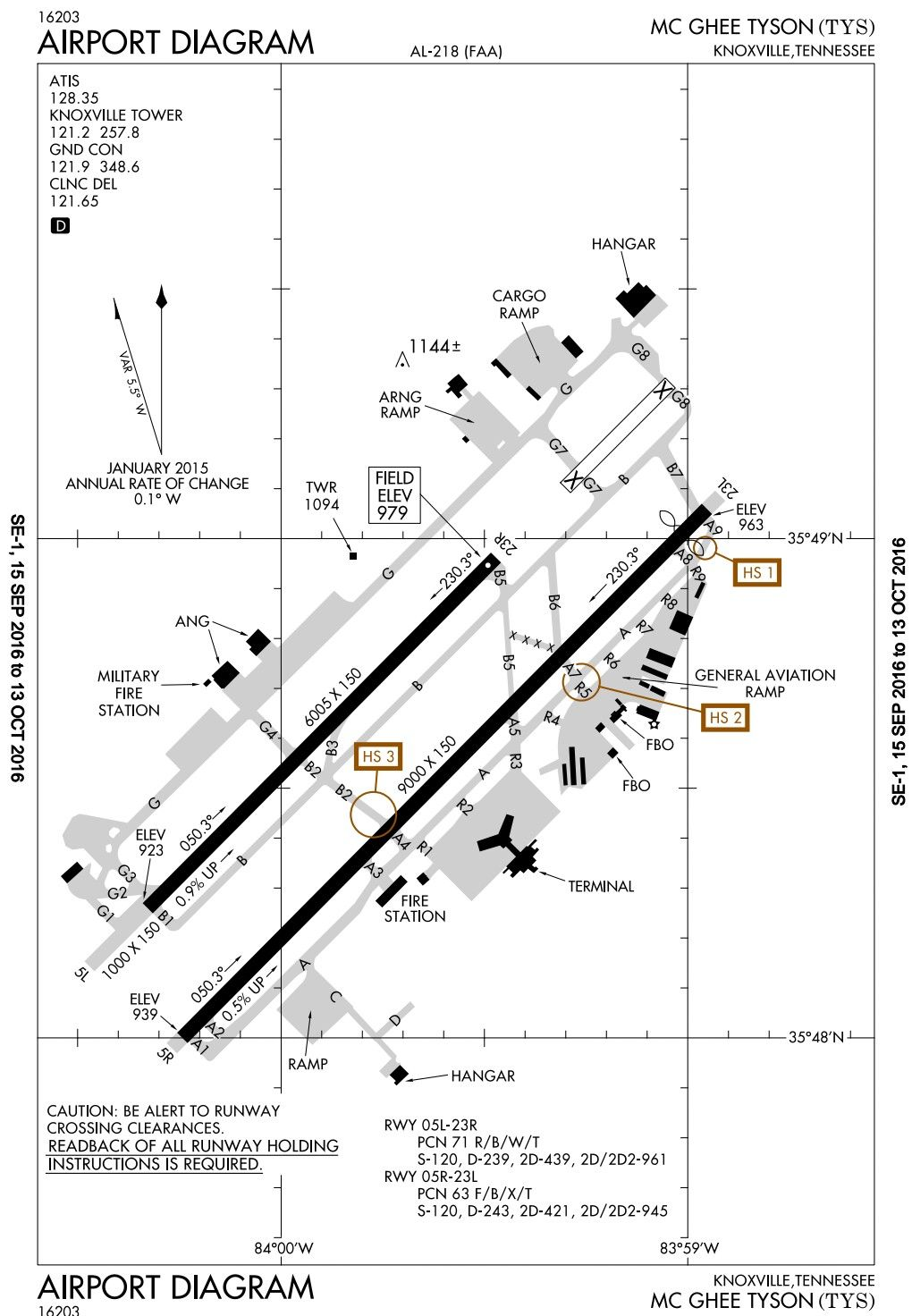 Mcghee Tyson Airport Diagram Knoxville Tennessee Ktys Airport Map Airport General Aviation