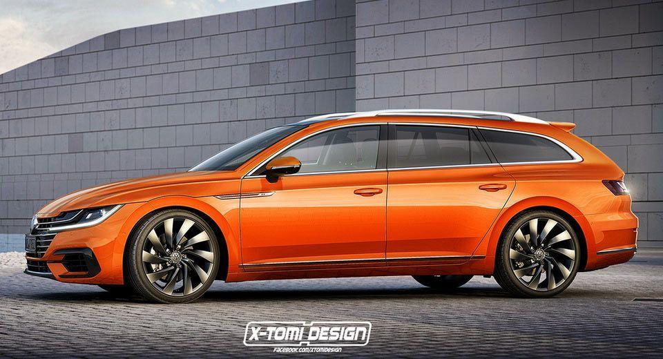New Vw Arteon Might Actually Get A Stylish Wagon Version Volkswagenpassat Volkswagen Passat Vw Passat Volkswagen Cc