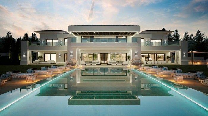 luxus pool vorschlag für kleine pools für den garten | luxuriöse, Garten ideen gestaltung