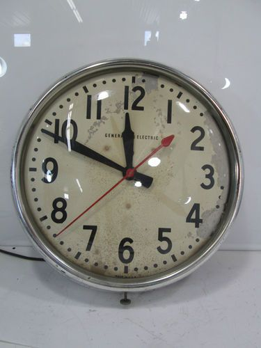 Vintage School Clock What About A