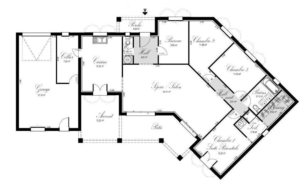Plan Achat Maison Neuve  Construire  Oc Rsidences Solleilade