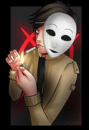 Hidden Valentine: Masky X Reader (Oneshot) by SympathyfortheDevil9
